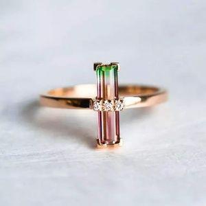 Dainty Tourmaline ring